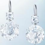 Алмазные серьги-подвески