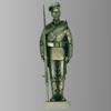 Серебряная скульптура «Часовой»